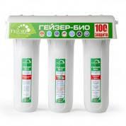 Проточный бытовой фильтр для воды Гейзер Био 321 (для жесткой воды)