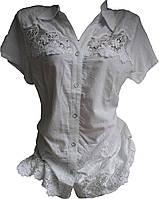 Женская рубашка батал