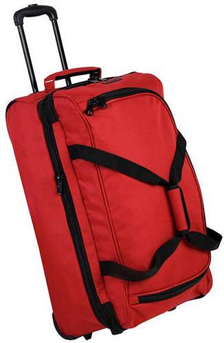 Незабываемая дорожная сумка 86 л. Members Expandable Wheelbag Medium 71/86, 922554 красный