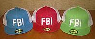 """Стильные реперки """"FBI"""" с сеткой"""