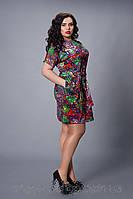 Женское модное платье больших размеров 50,52,54,56,58