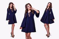 Модное короткое платье