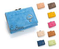 Женский кошелек GRAS LEGGINS 0148 на кнопке клатч портмоне