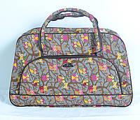 Текстильна  сумка-саквояж середнього розміру (код 87-588)