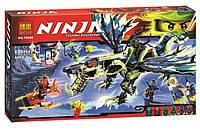 Конструктор Bela аналог lego ninjago 659 деталей арт. 10400