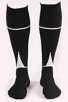Гетры футбольные Liga Sport (черный+белый)