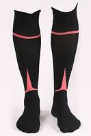 Гетры футбольные Liga Sport (черный+розовый)