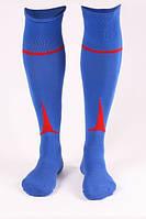 Гетры футбольные Liga Sport (синий+красный)