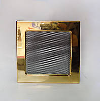 Решетка каминная Kratki с покрытием, Позолоченая