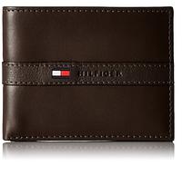 Кошелек (портмоне) мужской кожаный Tommy Hilfiger коричневый
