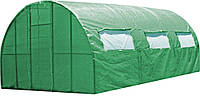 Каркасная теплица под пленку или полиматериал Click Green House, 3х6 м