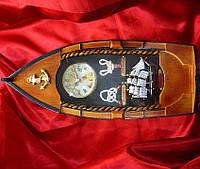 """Ключница с часами """"Лодка"""""""