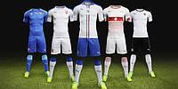 Футбольная форма сборных команд Евро 2016 в наличии