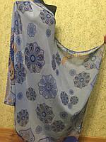 Парео Огурчик 901 цв. голубой