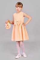 Нарядное  детское платье с сумочкой.