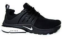 Мужские кроссовки  Nike Air Presto, текстиль, черные, Р. 42