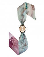Часы женские наручные на шелковом платке Италия