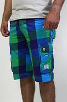Модные бриджи сине-зеленого цвета, фото 1