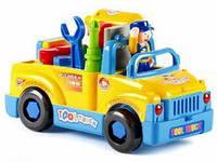 """Развивающая игрушка-конструктор Huile Toys """"Машинка с инструментами"""" (789)"""