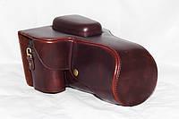 Защитный футляр - чехол для фотоаппаратов CANON 60D, 70D - цвет кофе (коричневый)
