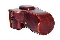 Защитный футляр - чехол для фотоаппаратов CANON 550D, 600D, 650D, 700D - цвет кофе (коричневый)