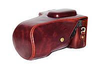 Защитный футляр - чехол для фотоаппаратов CANON 750D, 760D - цвет кофе (коричневый)