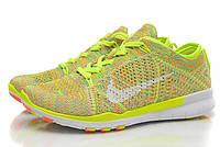 Кроссовки Nike Free TR Fit Flyknit Yellow - 990