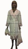 Подарочный набор Nusa (халат+тапочки+полотенце) №3870