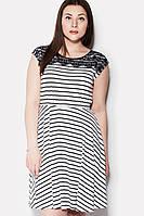 Легкое женское платье с кружевом MEL