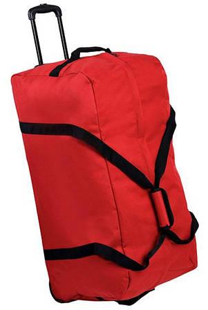 Неповторимая дорожная сумка 106 л. Members Holdall On Wheels Large 106, 922564 красный