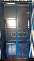 Москитная сетка для дверей Украина на магнитах 210х110см с комплектом для установки