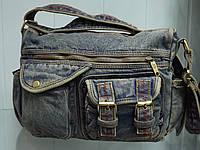 Стильная джинсовая сумка на плечо DIESEL 3025