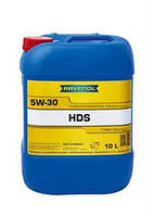 РАВЕНОЛ HDS Hydrocrack Diesel Specific 5W-30 10Л | МАСЛО МОТОРНОЕ СИНТЕТИКА RAVENOL HDS Hydrocrack Diesel Spec