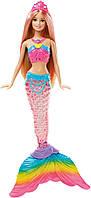 Детская кукла Барби Русалочка яркие огоньки Barbie