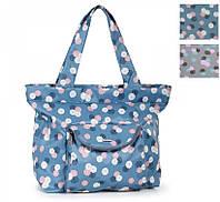 Летняя сумка с принтом «Лето в пастельных тонах» Dolly 087