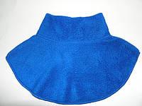 Горлышко  - шарфик синий