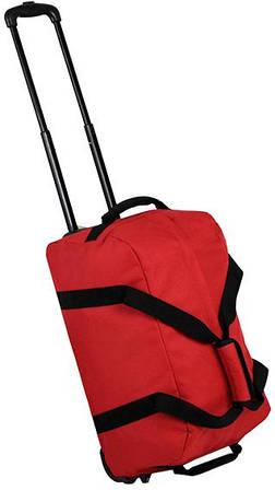 Современная дорожная сумка 42 л. Members Holdall On Wheels Small 42, 922560 красный