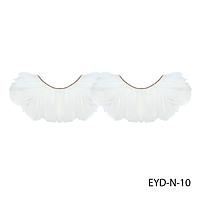 Ресницы декоративные накладные Lady Victory EYD-N-10 из натуральных перьев