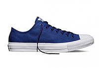 Кеды мужские Converse Blue  в синем цвете низкие