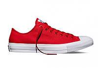 Кеды мужские Converse Red  в красном цвете низкие