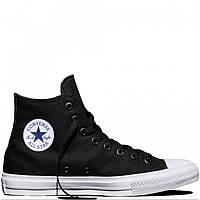Кеды мужские Converse High Black/White/Navy в черном цвете высокие