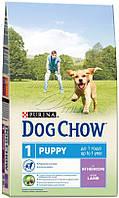 Dog Chow Puppy Lamb Корм для щенков с ягненком - 14 кг