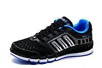 Кроссовки Adidas Climacool, унисекс, черные, р. 36 37 38, фото 1