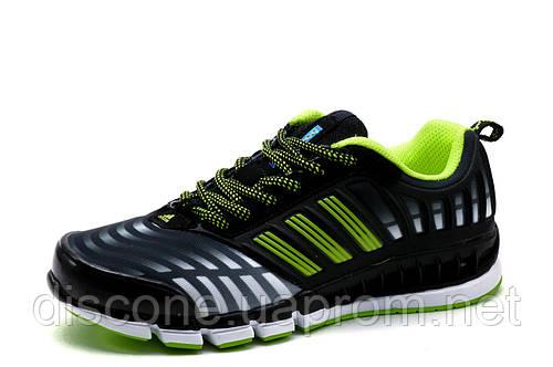 Кроссовки Adidas Climacool унисекс, женские, подросток, черные, р. 36