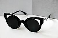 Очки женские от солнца Fendi Paradeyes Черные, магазин очков