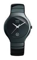 Керамические наручные часы Rado Jubile True Черные Унисекс