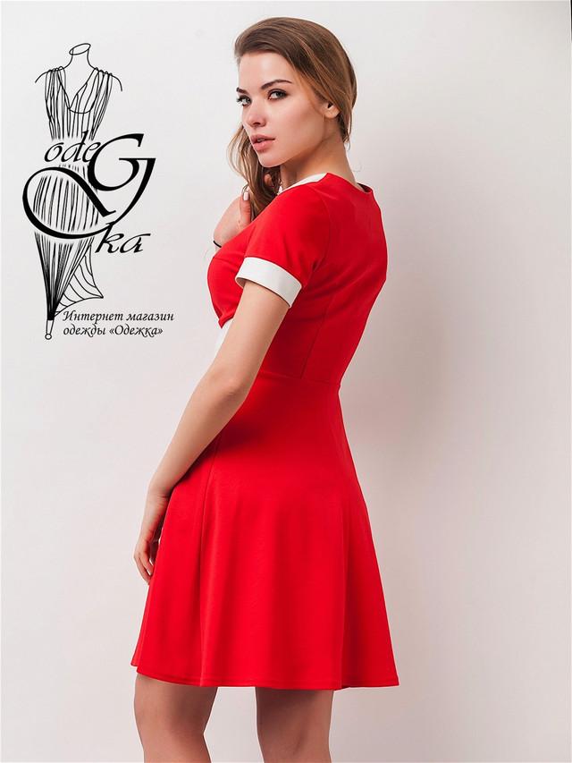 Фото-2 Платьев с юбкой солнцеклешь Каролина