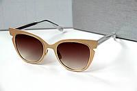 Очки женские от солнца Dior Mirra золото, магазин очков