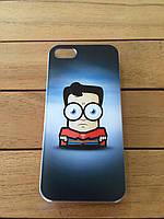 "Пластиковый чехол MARVEL  для iPhone 5/5s/SE ""Супермен"""