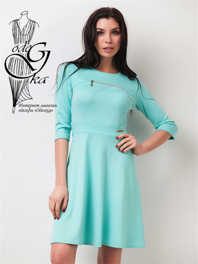 Фото-1 Женского спортивного платья Шейла-1 с рукавом ¾